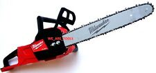 "Milwaukee 2727-20 16"" Chainsaw Fuel Cordless Brushless W/ Chain & Bar"
