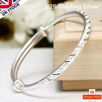 Adjustable Silver Meteor Bangle Bracelet Thin Ladies Women Jewellery Gift Summer