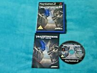 Transformers The Game Playstation 2 Game PAL Version Complete VGC Free UK P&P