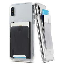 Ringke Slot Phone Card Holder [Jewel Series] Adhesive Slim Hard Premium Wallet