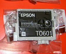 Lot of 2 Genuine Epson 60 Ink Black T0601 (2)