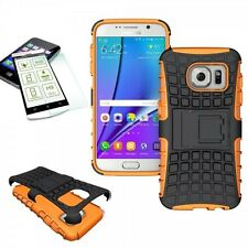 Hybrid Coque Protectrice 2teilig Orange Pour Samsung Galaxy S7 G930 G930F+