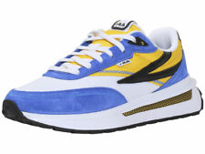 Fila Men's Renno Sneakers White/Lemon/Prince Blue