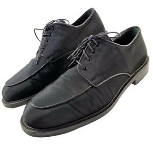 Cole Haan Men's Shoes 11 D Black Evening Dress 04452 Textured Synthetic Formal