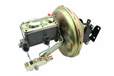 "1967-72 Chevy Truck 11""Power Brake Booster Kit w/ Square Lid GM Master & Valve"
