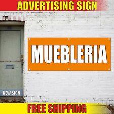 Muebleria Banner Advertising Vinyl Sign Flag spanish furniture shop store sale