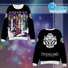 Anime Hoodie Overlord All Character Unisex Cosplay warm Casual Sweatshirt Coat