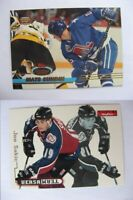 1996-97 Skybox Impact 9 of 10 Sakic Joe versa team avalanche