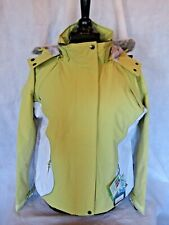 Target Dry Ladies Aspen Ski Jacket - Green / White