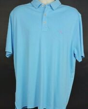 NEW Tommy Bahama $89 Glass Bead Blue S/S Polo Shirt Blue Men's, Size L