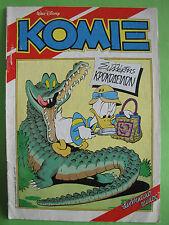 Greek Comics Walt Disney Komix 29 Terzopoulos 1990 November