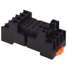 PYF14A DIN Rail Power Relay Socket Base 14 Pin for MY4NJ HH54P MY4 W9Q1 E5J7