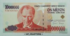BANKNOTE, BILLET- Turquia Turkey Turquie, 10000000 Lira 1999, UNC #106B01