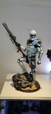 Captain Rex Sideshow Premium Format 1/4 Star Wars Reg. Boxed with shipper. In UK