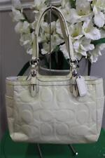 Coach Embossed Patent Leather Handbag Satchel F16564  Tote Bag (PU3000