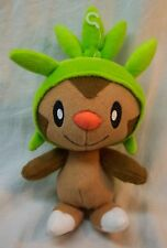 "TOMY Nintendo Pokemon CHESPIN 9"" Plush STUFFED ANIMAL Toy"