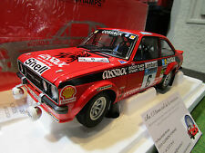 FORD ESCORT II RS1800 RALLYE RAC 1976 au 1/18 MINICHAMPS 100768406 voiture Rally