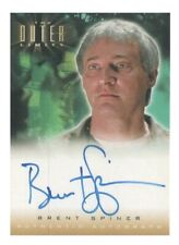 The Outer Limits Rare Authentic Autograph Card A2 Brent Spiner - Professor Davis
