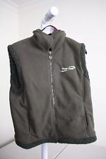 Fox Fire 100% Polyester Green Fully Zippered Vest Size - Large