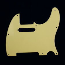 Telecaster Tele Standard Style Guitar pickguard ,Single-ply Cream