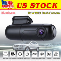 Blueskysea B1W Mini WiFi HD Auto Record Dash Camera Car DVR Vehicle Parking mode