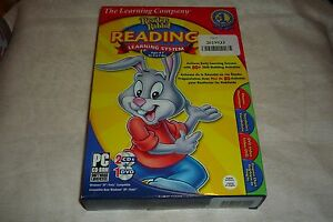 Learning Company Reader Rabbit Reading Learning System Windows 3 Disc Set NEW
