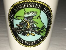 USCGC KINGFISHER WPB-87322 COAST GUARD CUTTER Shot glass Mayport Florida