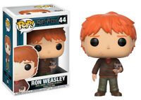 Pop! Harry Potter - Ron Weasley with Scabbers #44