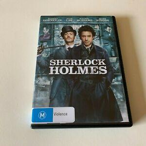 Sherlock Holmes (DVD, 2010) PAL Region 4 (starring Robert Downey Jr. & Jude Law)