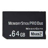 8-64GB Memory Stick Pro Duo Adapter Card for Sony PSP 2000 3000 Cybershot Camera