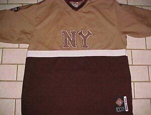 New York Black Yankees 13 Headgear NLBM 1932-1948 Brown Pullover Jersey 2XL