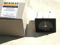 Renault Clio 1 horloge-Montre de tableau de bord 7700830614