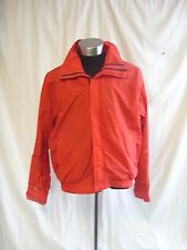 Mens Coat - Abercrombie & Fitch, size XL, tomato red, nylon,  hooded, used 7703