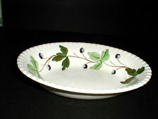 Blue Ridge Candlewick MOUNTAIN IVY Oval Vegetable Bowl