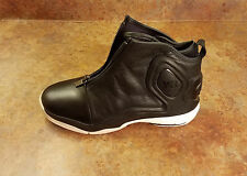 Adidas Y-3 Y3 'D-Rose 5' Black Leather Sneakers D96332 Mens Size 9 MSRP $345