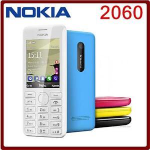 Original Nokia 206 2060 Dual SIM Russia/Arabic/Hebrew Language&Keyboard