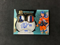 2016-17 THE CUP JESSE PULJUJARVI ROOKIE HONORABLE NUMBERS AUTO PATCH #ed 13/98
