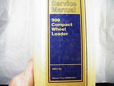 Cat Caterpillar 908 Compact Wheel Loader Service Manual 8bs1 Up