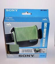 Atrac model Mdcase4 Net Md Sony Armband mini disc green