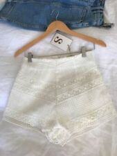 Lace Polyester Hand-wash Only Shorts for Women