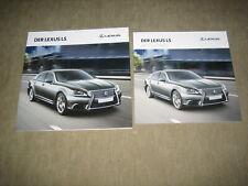 Lexus LS Prospekt Brochure von 12/2013, 68 Seiten + Preisliste