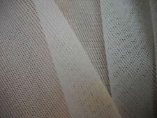 tissu résille blanc cassé