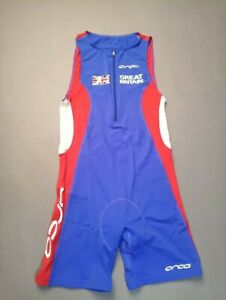 ORCA Great Britain Triathlon Cycling Jersey Equipment Race Suit