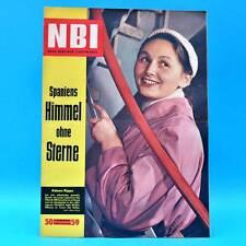 DDR NBI 50/1959 Gerard Philipe Filmfabrik AGFA Wolfen Blankenfelde Spanien M