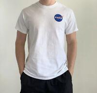 NASA White T Shirt Mens Medium