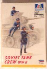 tank Tanque Soviet Tank Crew WW II - Italeri