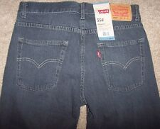 "NWT Levi's 550 Boys SMOKE MONSTER Gray Jeans RELAXED FIT 18 29"" x 29"" Red Tab"