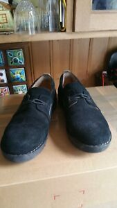 Clarks Ladies Unstructured Artisan Suede Leather Slip-On Flats Shoes UK 5.5D