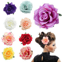 DIY Brooch Hairpin Party Rose Flower Bridal Headdress Wedding Hair Clips New