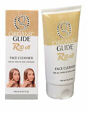 Organic Glide Acne Treatment Face Cleanser for Acne Pimples and Blackheads